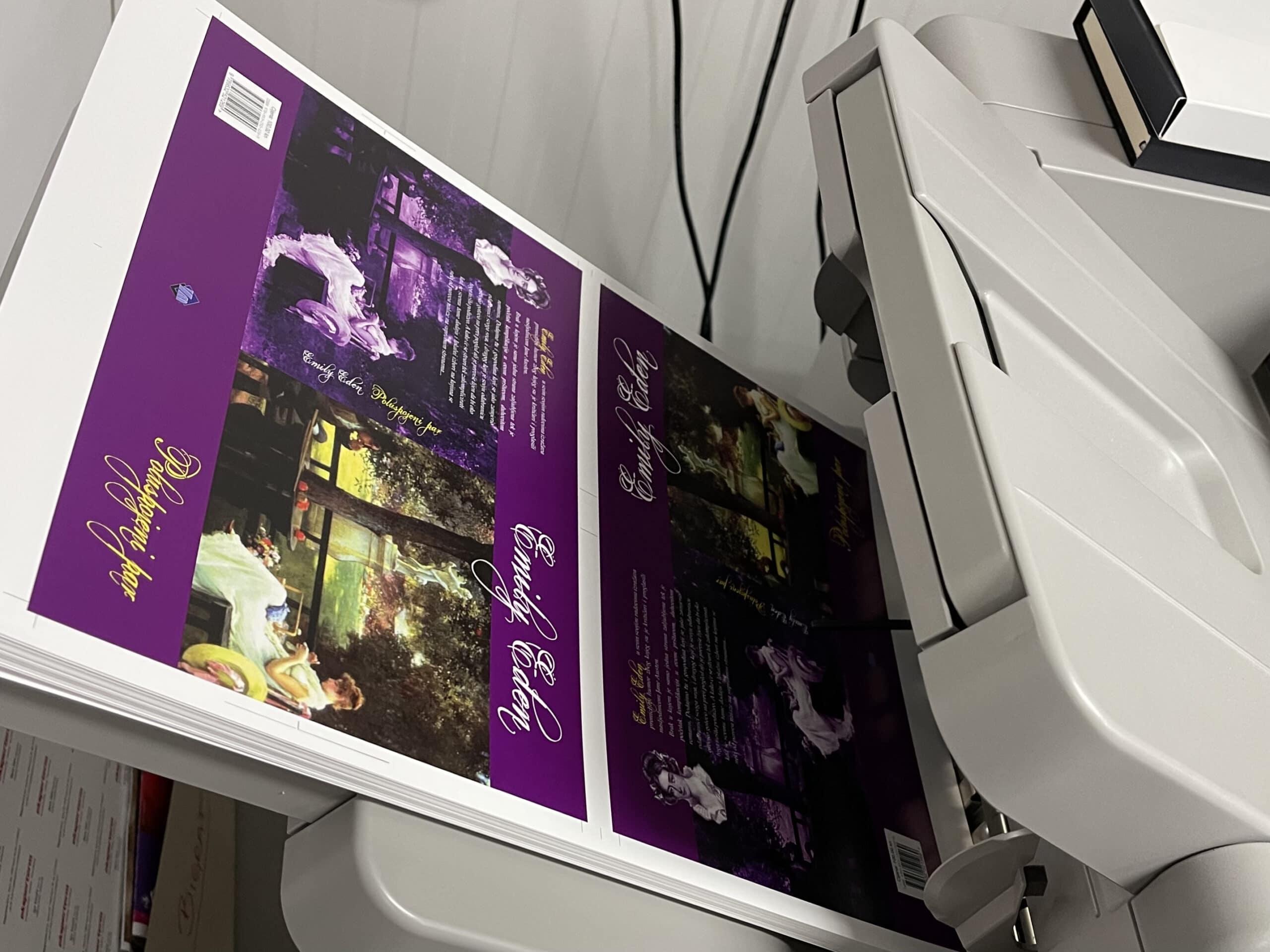 Digitalni tisak korice knjige