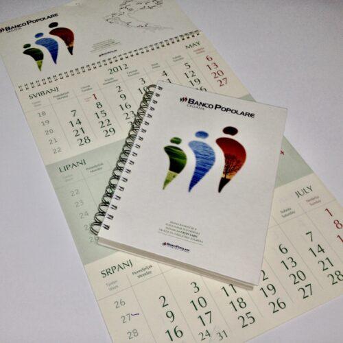 Rokovnici spiralni uvez i Kalendari