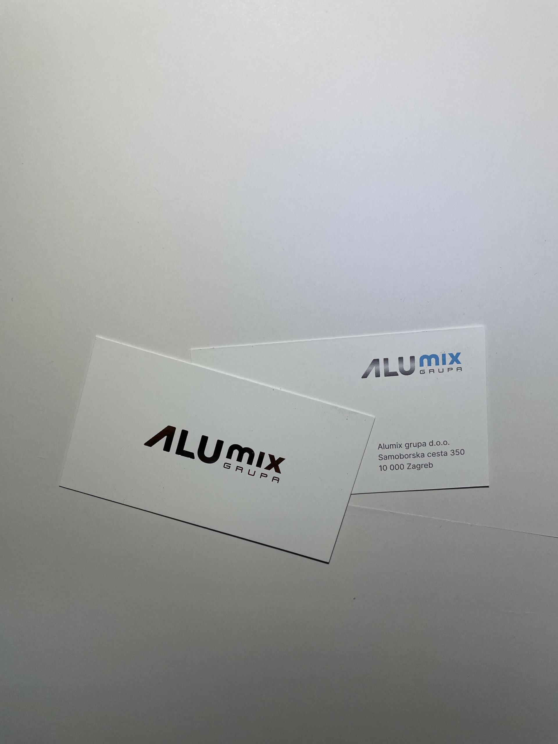 Vizitke AluMix